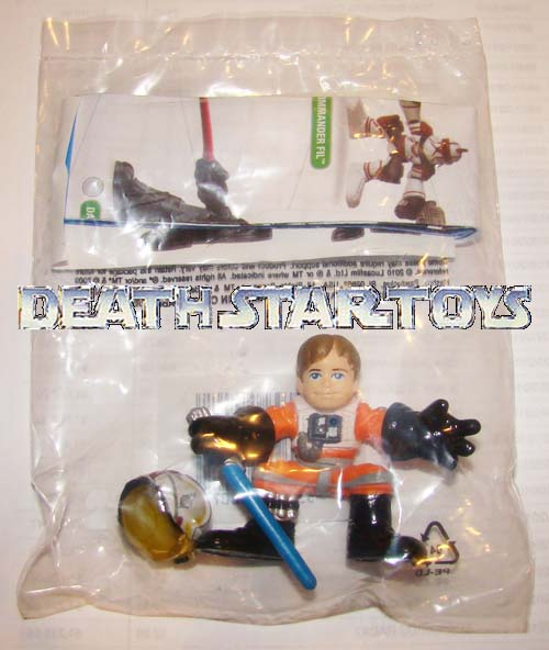 star wars celebration v cv galactic heroes luke skywalker promo baggie x